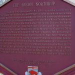 Anson Northrup Plaque inscription